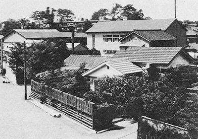 幼稚園の近所